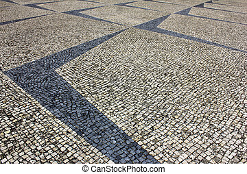 Portuguese pavement