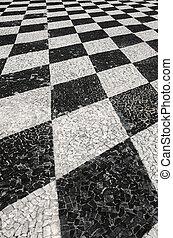Portuguese Walking Pavement
