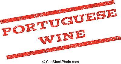 Portuguese Wine Watermark Stamp