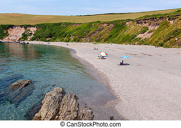 Portwrinkle beach near Looe