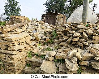 porządki, trzęsienie ziemi
