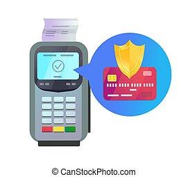 pos, terminal, ochrona, karta, kredyt