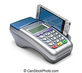 POS terminal with mobile