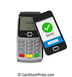 POS Terminal with Smartphone