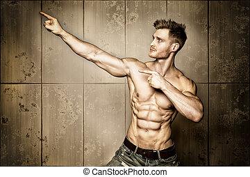 posar, construtor corpo