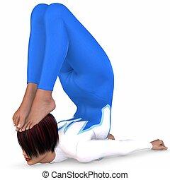 pose, gymnastique