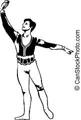 pose(1).jpg, mâle ballet, danseur, debout, croquis, 24