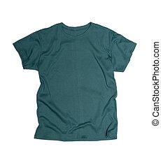 poseer, tshirt, plantilla, gráficos, listo, su