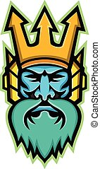 Poseidon-Greek-god-head-frnt-MASCOT
