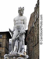 Poseidon statue - Poseidon Statue from Florence (Fontana del...