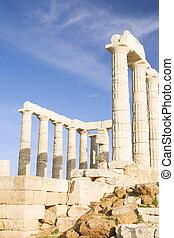 poseidon, templo