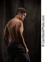 poses, photo., человек, сексуальный