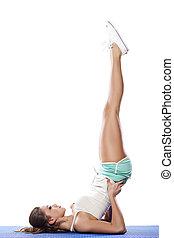 posição, ioga