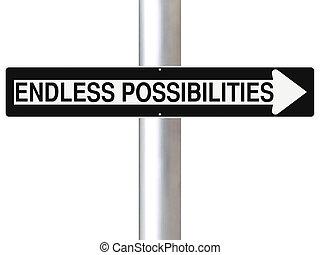 posibilidades, interminable