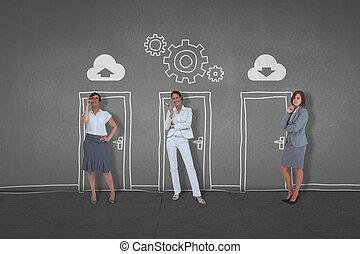 posición, empresarios