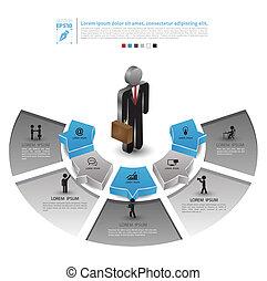 posición, hombre de negocios