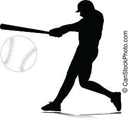 posición, vector, bateador