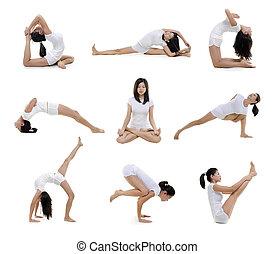 posición, yoga