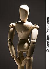 Posing Model Figurine