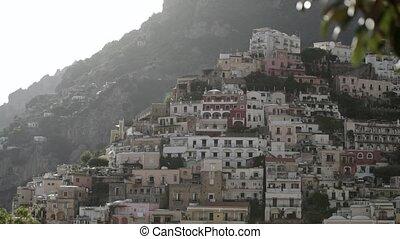 Positano city in Italy