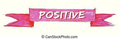 positief, lint