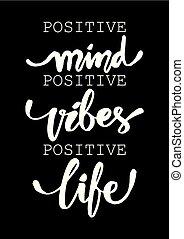 positief, quote., vibes, verstand, inspirational, life.