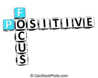 positif, 3d, foyer, mots croisés