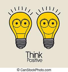 positif, penser