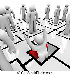 Position Eliminated - Falling Through Trap Door - A position...