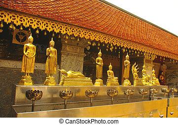 Position symbolic of the Buddha