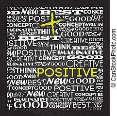 positiv, design