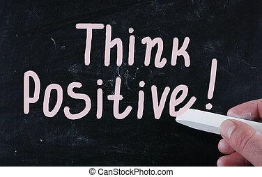 positive!, κρίνω
