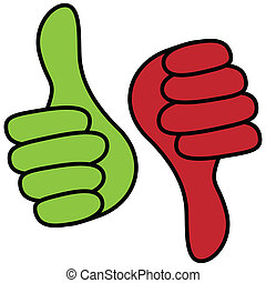 Positive and negative symbol - Illustration of positive and ...