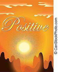 Positive background