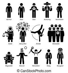 Positive Behaviour - Positive personalities traits,...