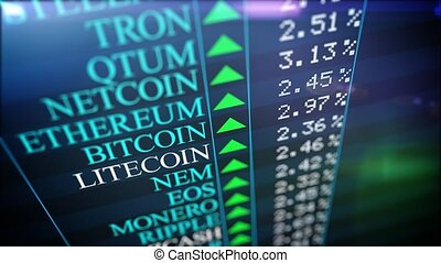 """Positive Cryptocurrency market rank. Bitcoin, Ethereum, Litecoin, Ripple, etc. A cryptocurrency is a digital or virtual that uses cryptography for security. """