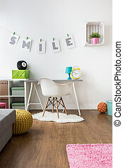Positive energy kids' room design