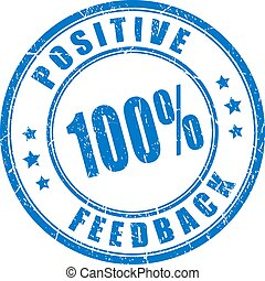 Positive feedback trusted rubber stamp