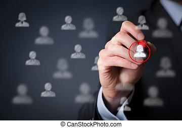 Positive gender discrimination, marketing segmentation and...