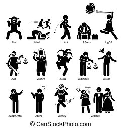 Positive Negative Character Traits.
