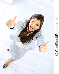 positivo, affari donna