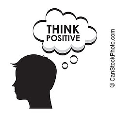 positivo, disegno, pensare