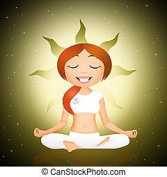 positur, yoga