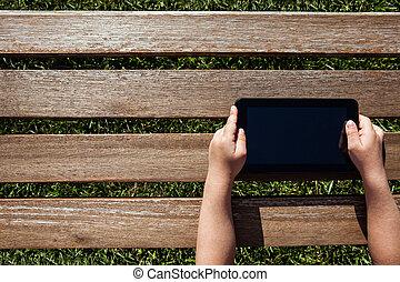 possession main, pc tablette