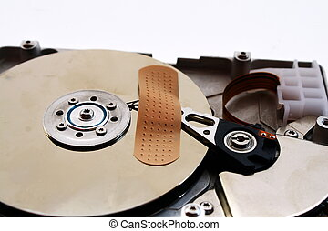 possible loss of data with a hard drive crash