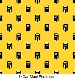 Post box pattern vector