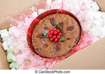 post, fruitcake