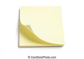 Post It Note Pad