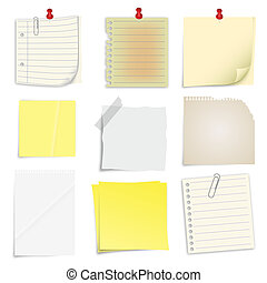 Post it Notes - Set of post it notes
