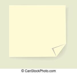 Post it Paper Sticker